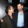 Luke Parker Bowles and Hugh Dancy