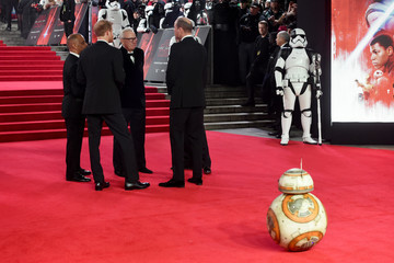 BB-8 'Star Wars: The Last Jedi' European Premiere - Red Carpet Arrivals