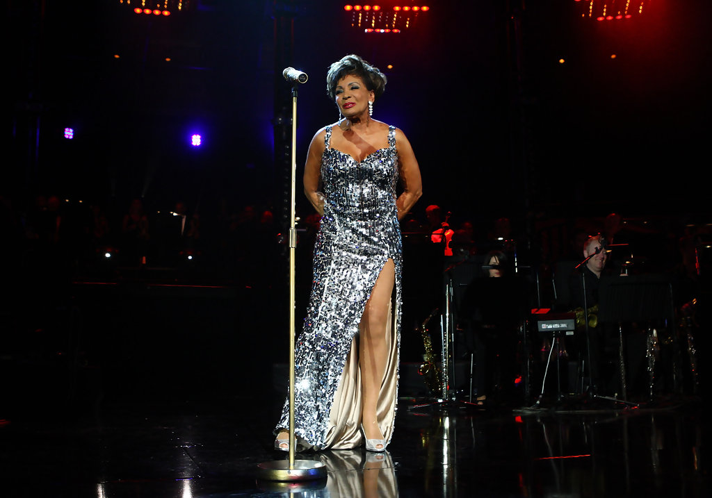 Image dame shirley bassey performed at the electric proms in october