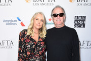Margaret DeVogelaere (L) and Peter Fonda attend The BAFTA Los Angeles Tea Party at Four Seasons Hotel Los Angeles at Beverly Hills on January 5, 2019 in Los Angeles, California.