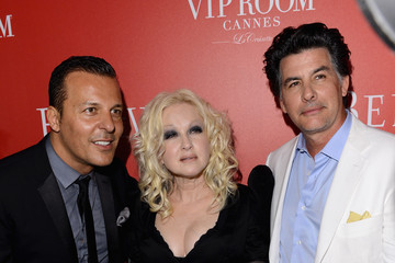 David Thornton The (BELVEDERE)RED Party In Cannes Featuring Cyndi Lauper - Red Carpet Arrivals