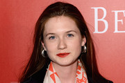 Actress Bonnie Wright arrives at The (BELVEDERE)RED Party in Cannes featuring Cyndi Lauper at VIP Rooms at The JW Marriott on May 18, 2012 in Cannes, France.  (Photo by Ian Gavan/Getty Images for (BELVEDERE)RED)