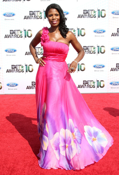 Omarosa Manigault-Stallworth arrives at the 2010 BET Awards held at the Shrine Auditorium on June 27, 2010 in Los Angeles, California.