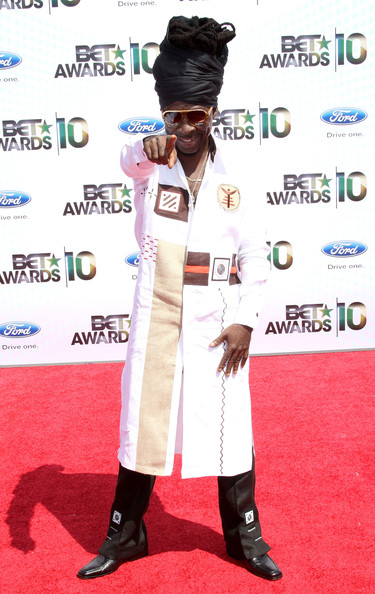 Kojo arrives at the 2010 BET Awards held at the Shrine Auditorium on June 27, 2010 in Los Angeles, California.