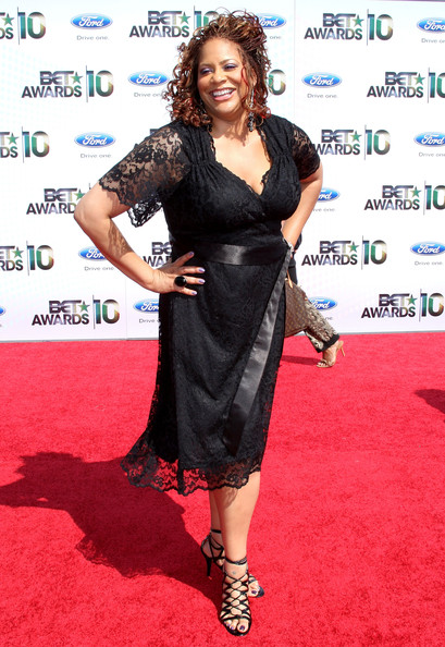 Actress Kim Coles arrives at the 2010 BET Awards held at the Shrine Auditorium on June 27, 2010 in Los Angeles, California.