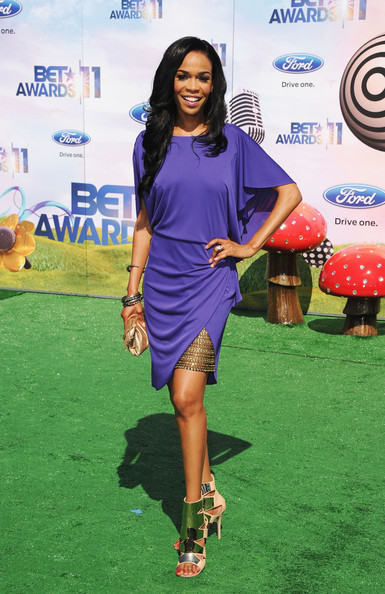 Singer Michelle Williams arrives at the BET Awards '11 held at the Shrine Auditorium on June 26, 2011 in Los Angeles, California.
