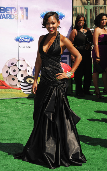 Actress Meagan Good arrives at the BET Awards '11 held at the Shrine Auditorium on June 26, 2011 in Los Angeles, California.