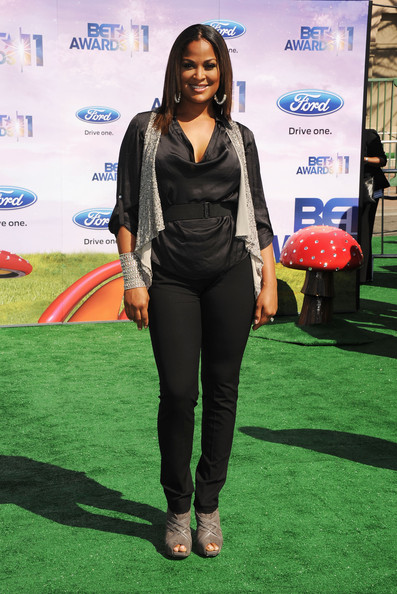Former professional boxer Laila Ali arrives at the BET Awards '11 held at the Shrine Auditorium on June 26, 2011 in Los Angeles, California.