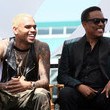 Chris Brown and Charlie Wilson Photos