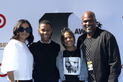 (L-R) Vanessa Rodriguez Spencer, Christopher Spencer, Isabella Spencer, and Chris Spencer attend the Pantene Style Stage at the 2019 BET Awards at the 2019 BET Awards at Microsoft Theater on June 23, 2019 in Los Angeles, California.