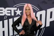 TV personality Tami Roman attends the BET Hip Hop Awards 2017 at The Fillmore Miami Beach at the Jackie Gleason Theater on October 6, 2017 in Miami Beach, Florida.