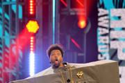 Host Deray Davis onstage during the BET Hip Hop Awards 2018 at Fillmore Miami Beach on October 6, 2018 in Miami Beach, Florida.