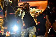 T-Pain speaks onstage at the BET Hip Hop Awards 2019 at Cobb Energy Center on October 05, 2019 in Atlanta, Georgia.