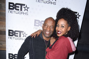Director John Singleton and actress Danielle Mone Truitt attend the BET Hosted Reception at Riverhorse On Main on January 22, 2017 in Park City, Utah.
