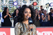 Simone Missick attends the 2017 Soul Train Awards Pre-Show, presented by BET, at the Orleans Arena on November 5, 2017 in Las Vegas, Nevada.