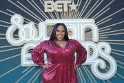Kelly Price attends the 2019 Soul Train Awards presented by BET at the Orleans Arena on November 17, 2019 in Las Vegas, Nevada.