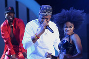 Luke James and BJ The Chicago Kid perform onstage at the 2019 Soul Train Awards presented by BET at the Orleans Arena on November 17, 2019 in Las Vegas, Nevada.