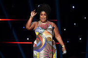 Lizzo accepts Entertainer of the Year award onstage during the 51st NAACP Image Awards, Presented by BET, at Pasadena Civic Auditorium on February 22, 2020 in Pasadena, California.