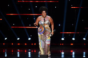 Lizzo accepts the Entertainer of the Year award onstage during the 51st NAACP Image Awards, Presented by BET, at Pasadena Civic Auditorium on February 22, 2020 in Pasadena, California.