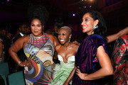(L-R) Lizzo, Cynthia Erivo, and Tracee Ellis Ross attend the 51st NAACP Image Awards, Presented by BET, at Pasadena Civic Auditorium on February 22, 2020 in Pasadena, California.