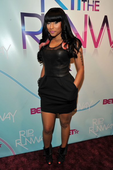 Singer Nicki Minaj attends BET's Rip The Runway 2010 at the Hammerstein Ballroom on February 27, 2010 in New York City.