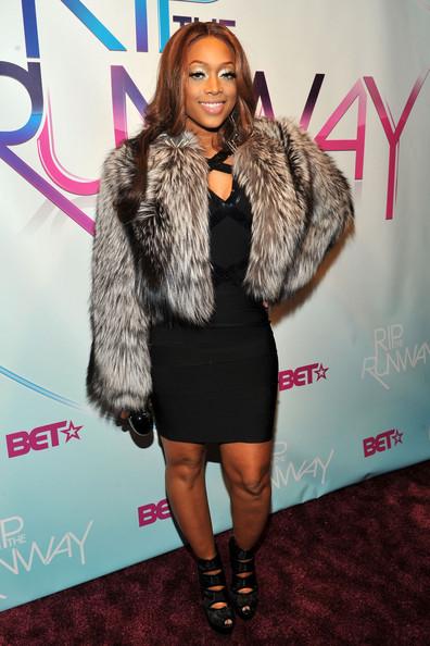 Singer Trina attends BET's Rip The Runway 2010 at the Hammerstein Ballroom on February 27, 2010 in New York City.