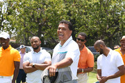 Reggie Theus attends BETX Golf at Wilshire Country Club on June 24, 2016 in Los Angeles, California.