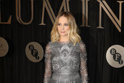 Actress Joanne Froggatt attends the BFI Luminous Fundraising Gala at The Guildhall on October 3, 2017 in London, England.