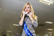 Amanda Holden attends the annual BGC Global Charity Day at BGC Partners on September 11, 2014 in London, England.