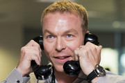Sir Chris Hoy attends the annual BGC Global Charity Day at BGC Partners on September 11, 2014 in London, England.