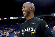 Chauncey Billups warms up during week seven of the BIG3 three on three basketball league at Rupp Arena on August 6, 2017 in Lexington, Kentucky.