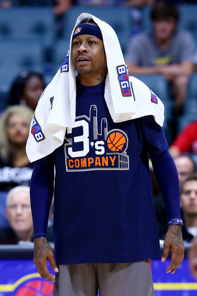 new product 59d4d 71a95 Allen Iverson in BIG3 - Week Three 1 of 19 - Zimbio