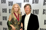 Maria Pia Shuman (L) attends the BMI Awards held at The Dorchester Hotel on October 5, 2010 in London, England.