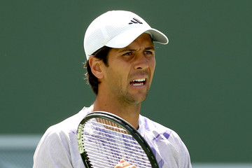 Fernando Verdasco BNP Paribas Open: Day 8
