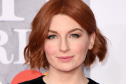 Alice Levine attends The BRIT Awards 2019 held at The O2 Arena on February 20, 2019 in London, England.