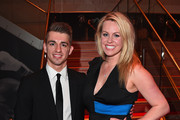 Max Whitlock and Chemmy Alcott pose on the red carpet during the BT Sport Industry Awards 2017 at Battersea Evolution on April 27, 2017 in London, England. The BT Sport Industry Awards is the most prestigious commercial sports awards ceremony in Europe, where over 1,750 of the industry's key decision-makers mix with high profile sporting celebrities for the industry's most anticipated night of the sport business calendar.