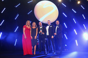 Chemmy Alcott presents the Sustainability Initiative of the Year award to RFU during the BT Sport Industry Awards 2018 at Battersea Evolution on April 26, 2018 in London, England. The BT Sport Industry Awards is the largest commercial sports awards in the world. Bringing together sports stars, celebrities, senior decision makers, influencers and global media, the industry's most anticipated night of the year celebrates the very best work from across the sector.