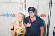 Tori Spelling and Dean McDermott attend Backstage Creations Celebrity Retreat At Teen Choice 2019 on August 11, 2019 in Hermosa Beach, California.