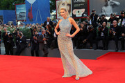 Ria Antoniou attends the premiere of 'The Bad Batch' during the 73rd Venice Film Festival at Sala Grande on September 6, 2016 in Venice, Italy.