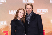 "Linda Bruckheimer and Jerry Bruckheimer attend the Berlin premiere of ""Bad Boys For Life"" at Zoo Palast on January 07, 2020 in Berlin, Germany."