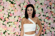 Jayde Nicole arrives at Baes And Bikinis Los Angeles Launch Party at Catch LA on November 19, 2019 in West Hollywood, California.