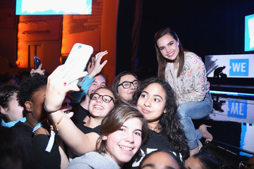 Bailee Madison Celebs Attend WE Day New York Welcome to Celebrate Young People Changing the World