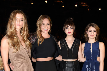 Bailee Madison BCBGMAXAZRIA - Front Row - Fall 2016 New York Fashion Week: The Shows