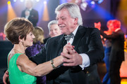 Volker Bouffier dances with his wife Ursula attends German Sports Gala 'Ball des Sports 2016' on February 6, 2016 in Wiesbaden, Germany.
