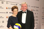 Volker Bouffier with Ursula Bouffier attend Ball des Sports 2019 Gala at RheinMain CongressCenter on February 02, 2019 in Wiesbaden, Germany.