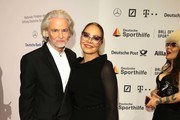 (L-R)  Ornella Muti and Hermann Buehlbecker attend Ball des Sports 2019 Gala at RheinMain CongressCenter on February 02, 2019 in Wiesbaden, Germany.