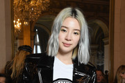 Irene Kim attends the Balmain show as part of the Paris Fashion Week Womenswear Fall/Winter 2018/2019 on March 2, 2018 in Paris, France.