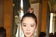 Irene Kim attends the Balmain show as part of the Paris Fashion Week Womenswear Spring/Summer 2019 on September 28, 2018 in Paris, France.