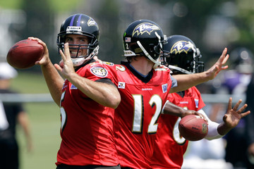 Hunter Cantwell Baltimore Ravens Training Camp