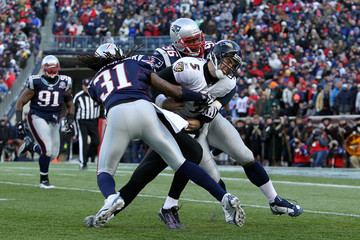 Adalius Thomas Baltimore Ravens v New England Patriots - Wild Card Round